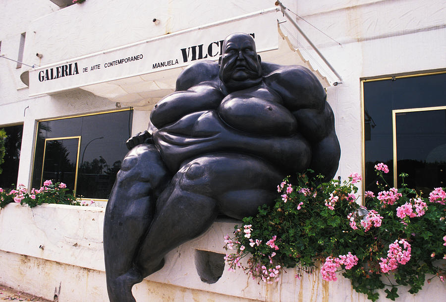 Men Photograph - On A Diet In Monte Carlo by Carl Purcell