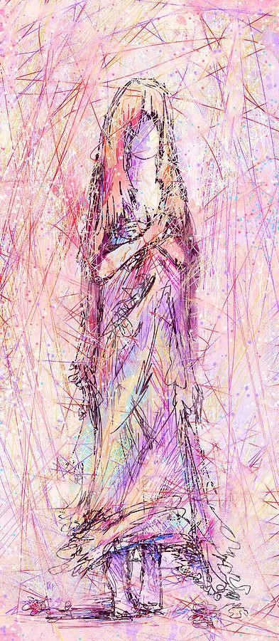 Spirit Digital Art - On My Toes by Rachel Christine Nowicki