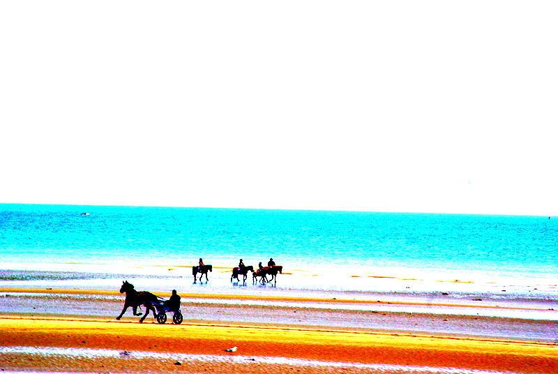Sea Photograph - On The Beach by Amanda Pillet