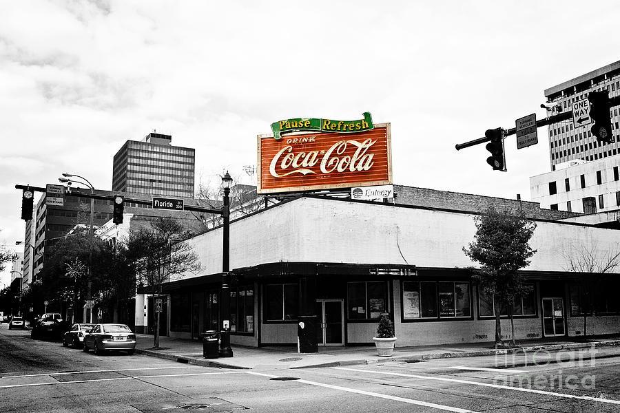 Black & White Photograph - On The Corner by Scott Pellegrin