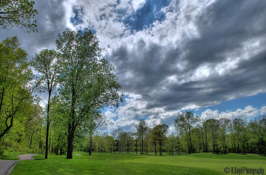 Golf Photograph - On The Course  by Heather  Boyd