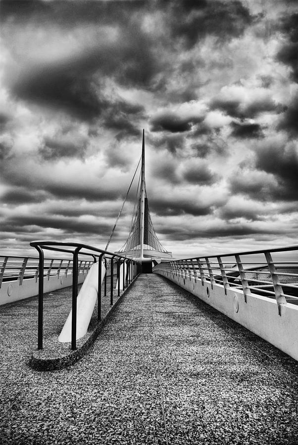Black And White Photograph - On The Lake by Jack Zulli