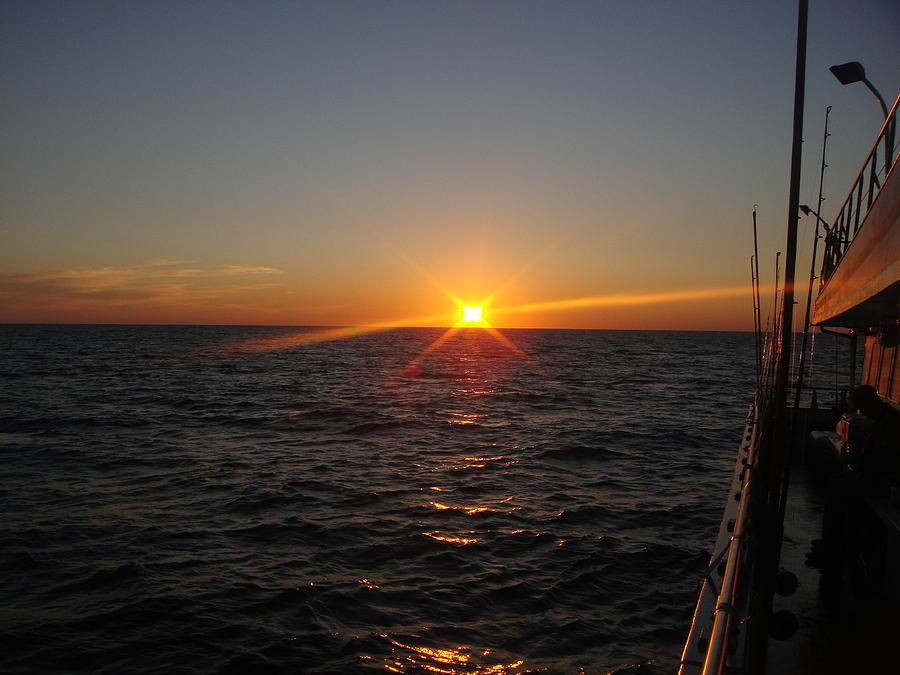 Fishing Photograph - On The Open Sea by Amanda Jastrzebski
