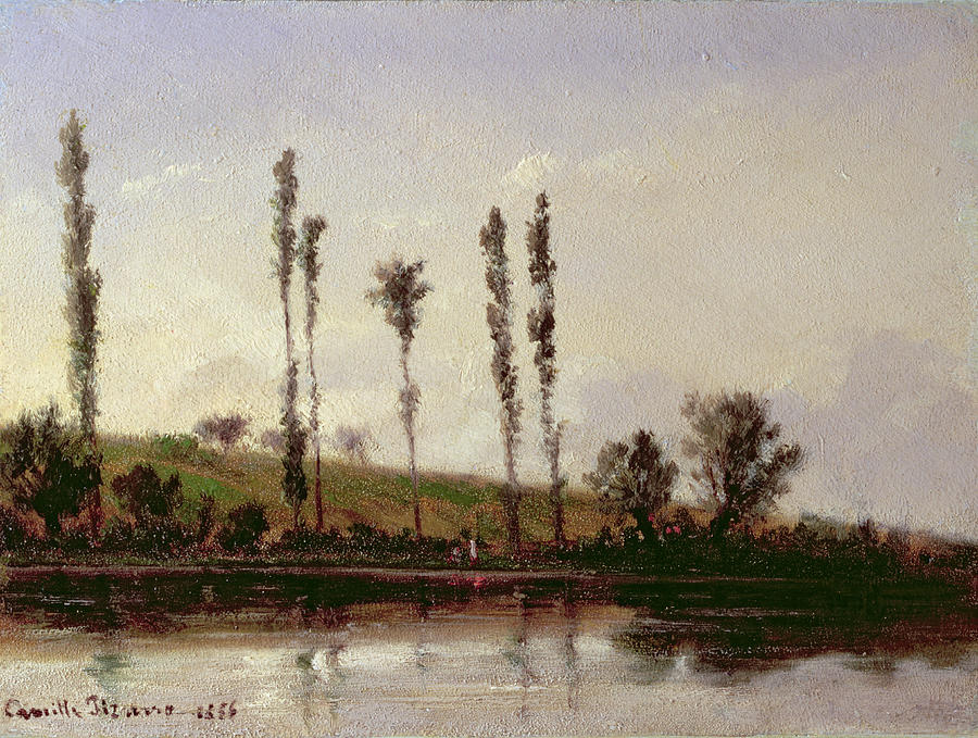 Pissarro Painting - On The Outskirts Of Paris by Camille Pissarro