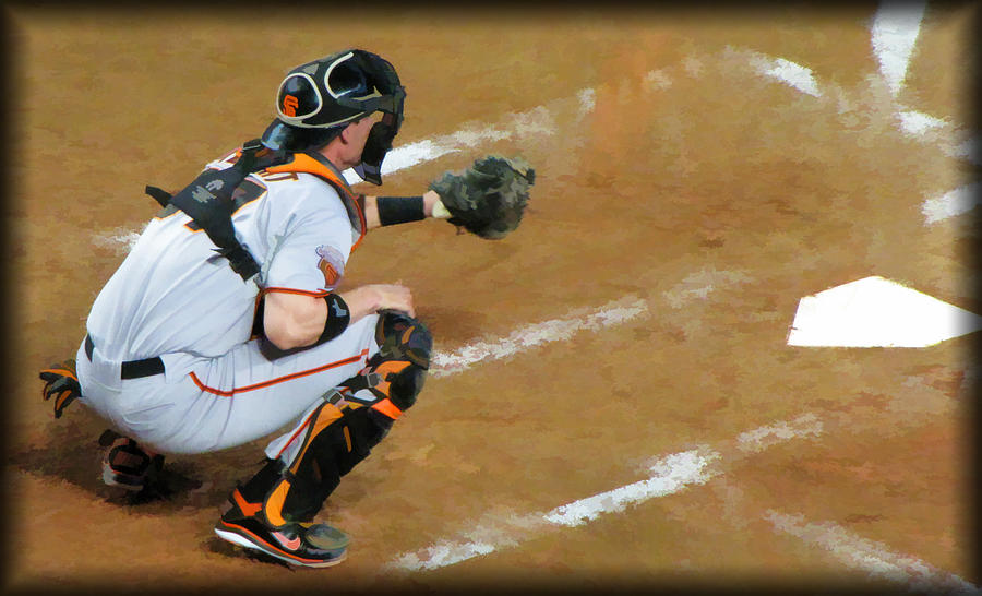 San Francisco Giants Photograph - On The Ready by Diane Wood
