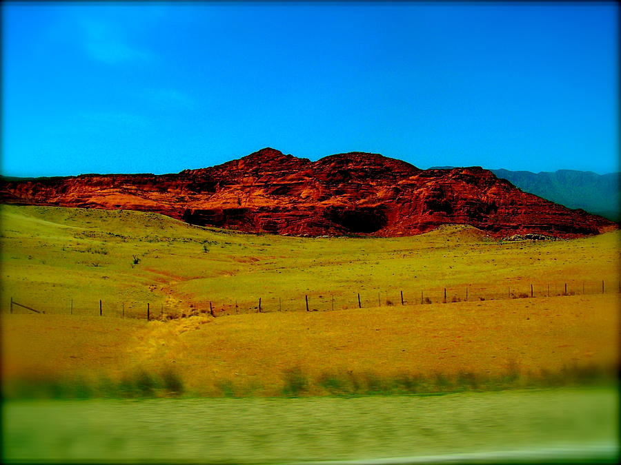 Landscapes Photograph - On The Road by Amber Hennessey
