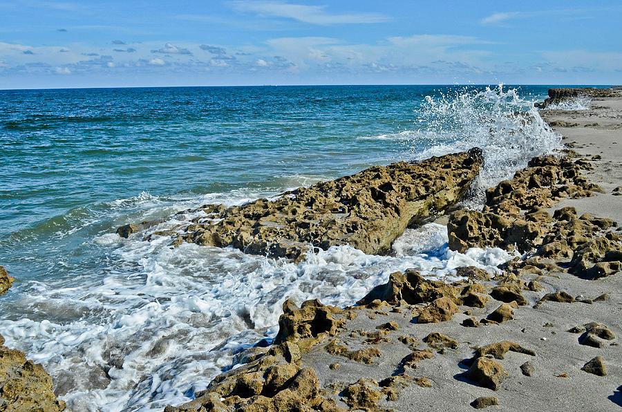 Ocean Photograph - On The Rocks by Julio n Brenda JnB