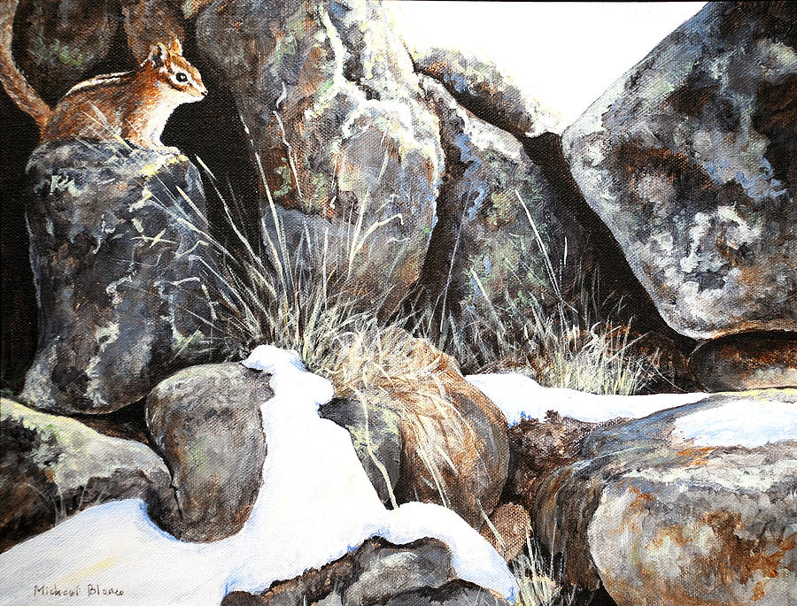 On The Rocks by Michael Blanco