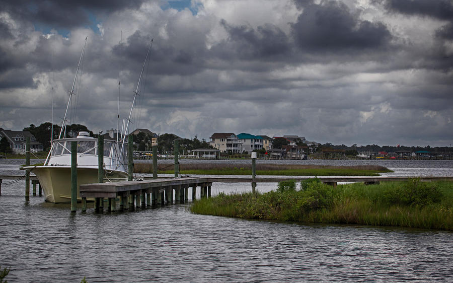 Topsail Island Photograph - On The Water by Christina Durity