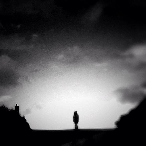 Noir Photograph - On Top O The World - Re Edit by Robbert Ter Weijden