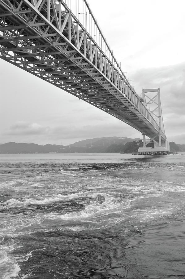 Vertical Photograph - Onaruto Bridge by Miguel Castaneda