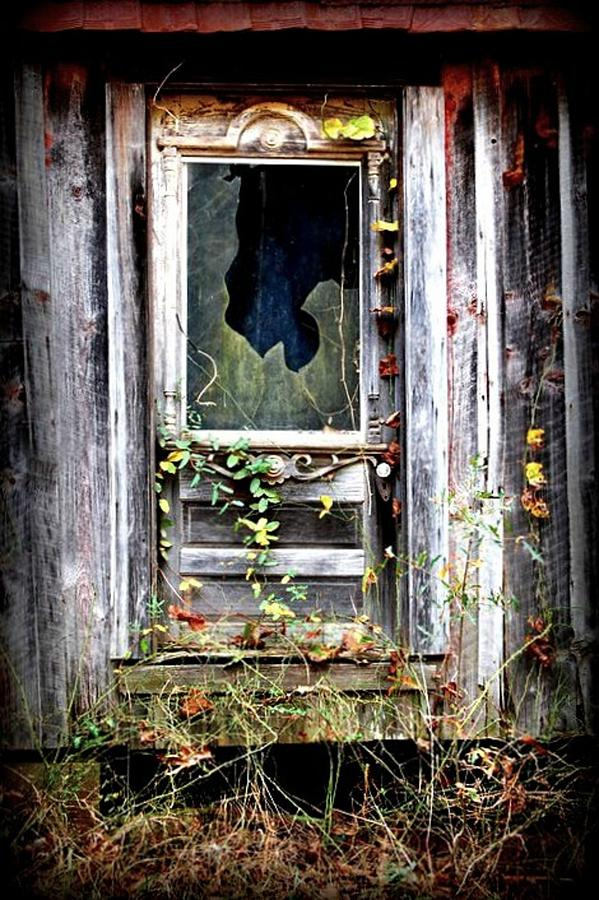 Door Photograph - Once Upon A Time by Beverly Hammond