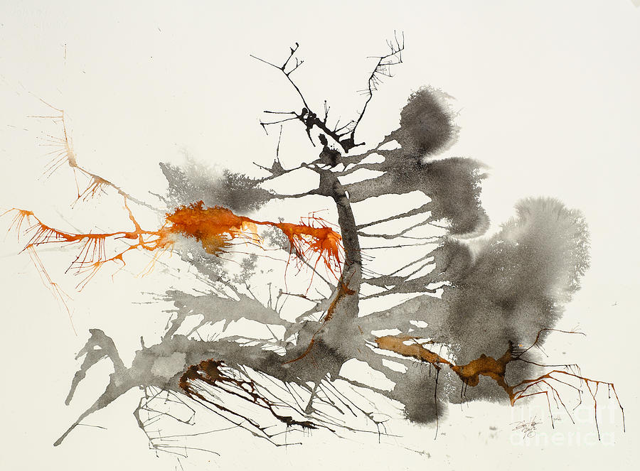 Abstract Painting - One by David W Coffin