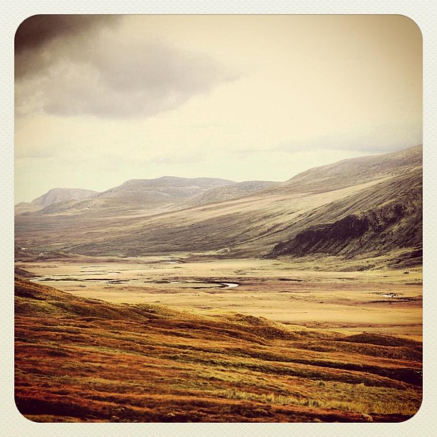Highlands Photograph - One Day In The Highlands by Luisa Azzolini