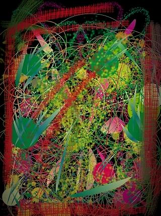 Silly Digital Art - One Min Masterpiece by Denisse Del Mar Guevara
