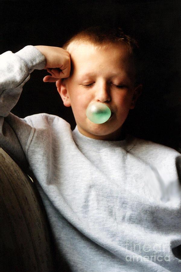 People Photograph - One More Bubble by Susan Stevenson