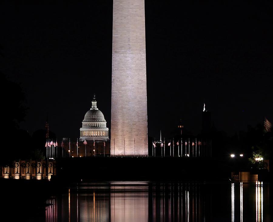 Washington Dc Photograph - One Nation by Kim Hojnacki