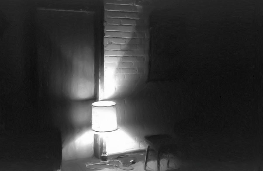 Interior Photograph - One Room One Light -- Ein Zimmer ein Licht by Arthur V Kuhrmeier
