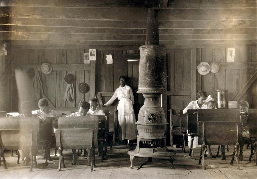 History Photograph - One Room School For African Americans by Everett