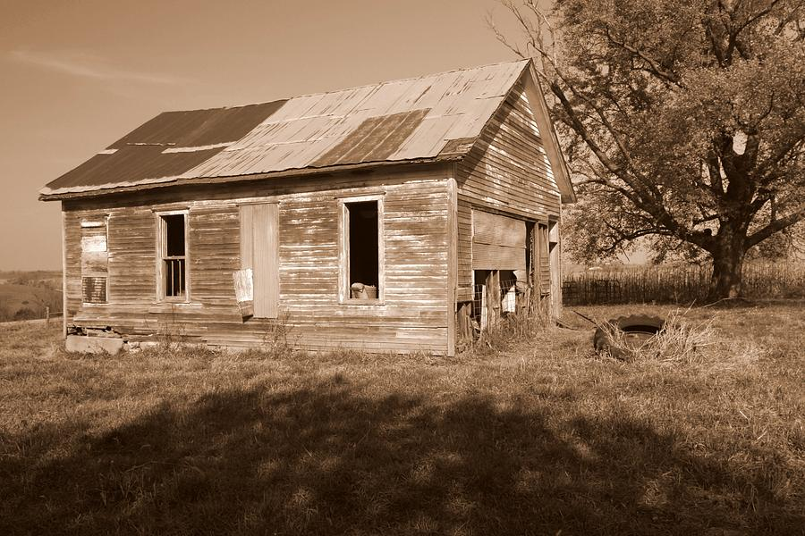 One Room School Photograph - One Room School House by Rick Rauzi