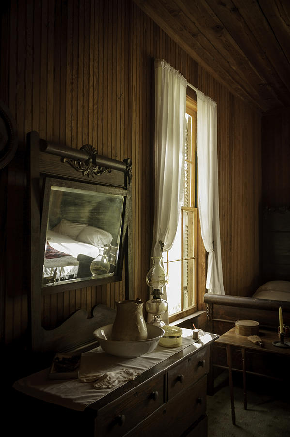 Bedroom Photograph - One Womans Life by Lynn Palmer