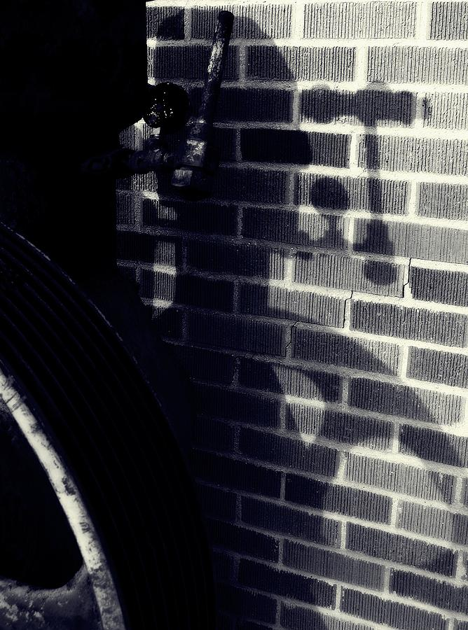 Abstracts Photograph - Only A Shadow by Steven Milner