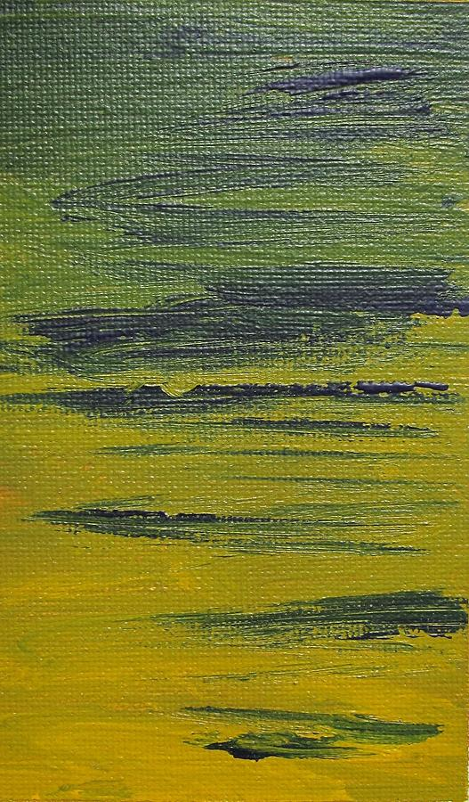Abstract Painting - Only For A While 2 by Artist Named Iesha