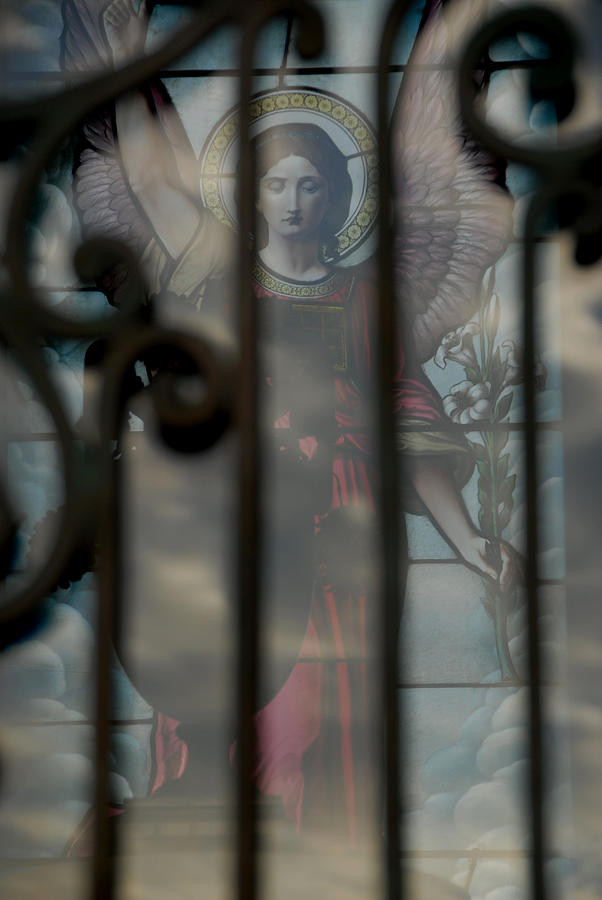 Opaque Angel Photograph by Phil Bongiorno