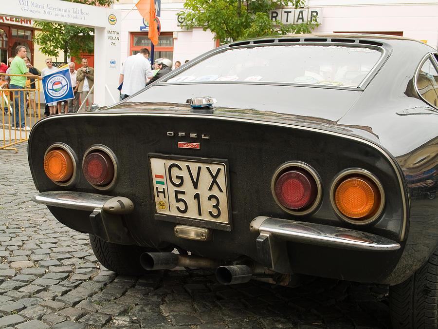 Old Photograph - Opel Car by Odon Czintos