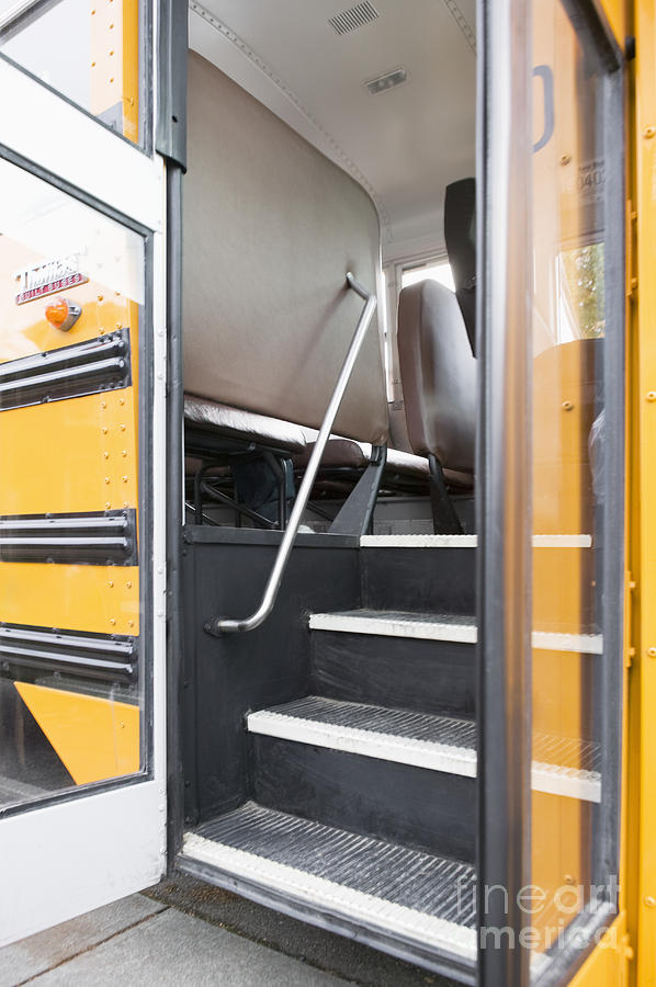 Bus Photograph - Open Bus Doors by Andersen Ross & Open Bus Doors Photograph by Andersen Ross pezcame.com