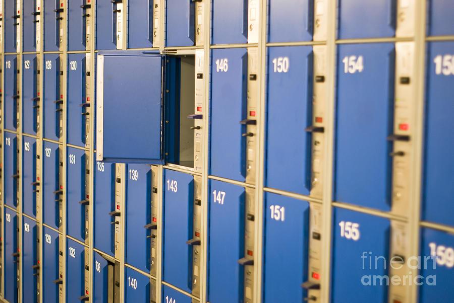 Open Locker Photograph By Boris Suntsov