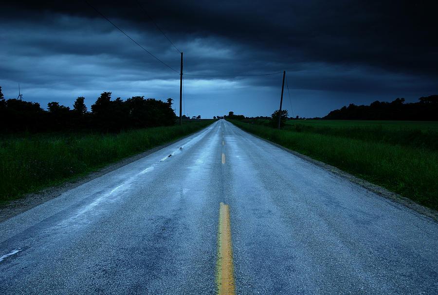 Open Road Photograph