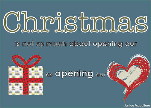 Christmas Digital Art - Opening Our Hearts by Katie Hester