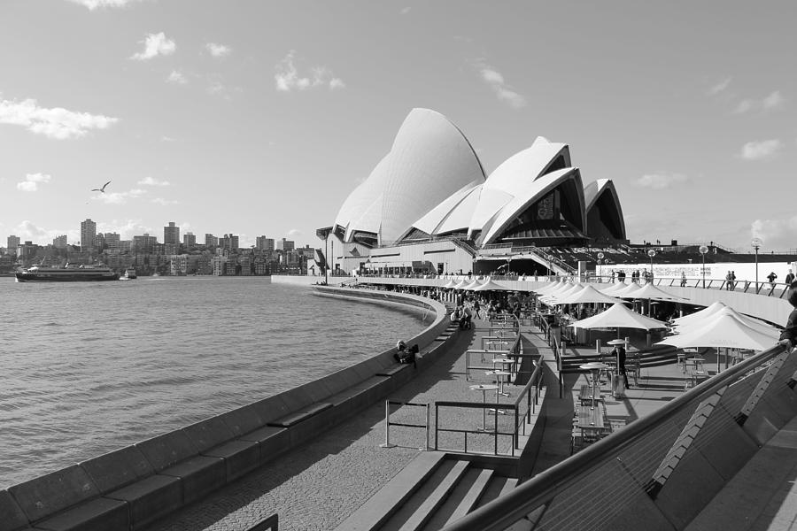 Opera Photograph - Opera Morning by Harlan Fijal-Campbell