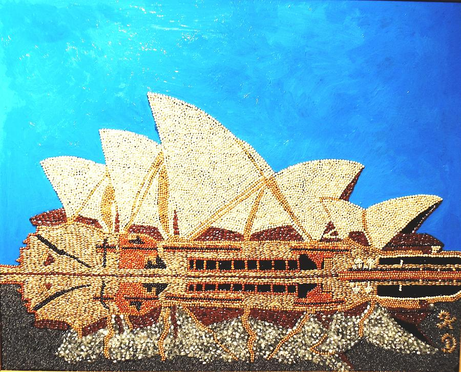 Building Painting - Opera Of Sydney by Kovats Daniela