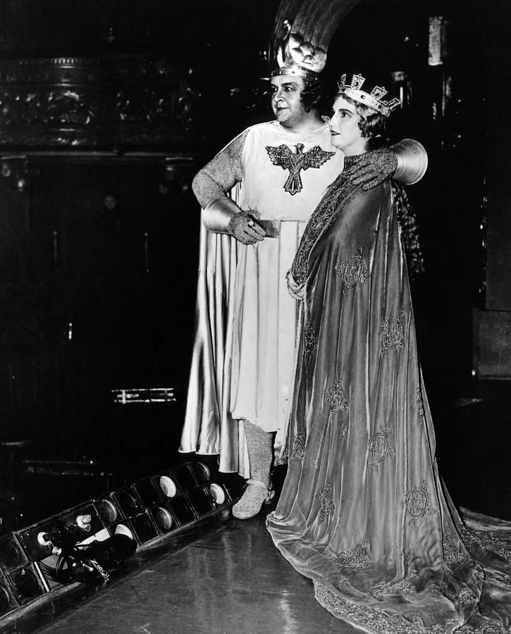 1930s Photograph - Opera Singers Lauritz Melchior by Everett