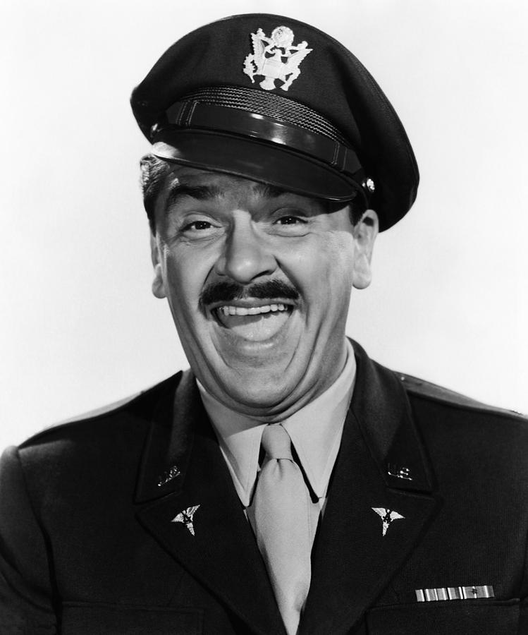 1957 Movies Photograph - Operation Mad Ball, Ernie Kovacs, 1957 by Everett