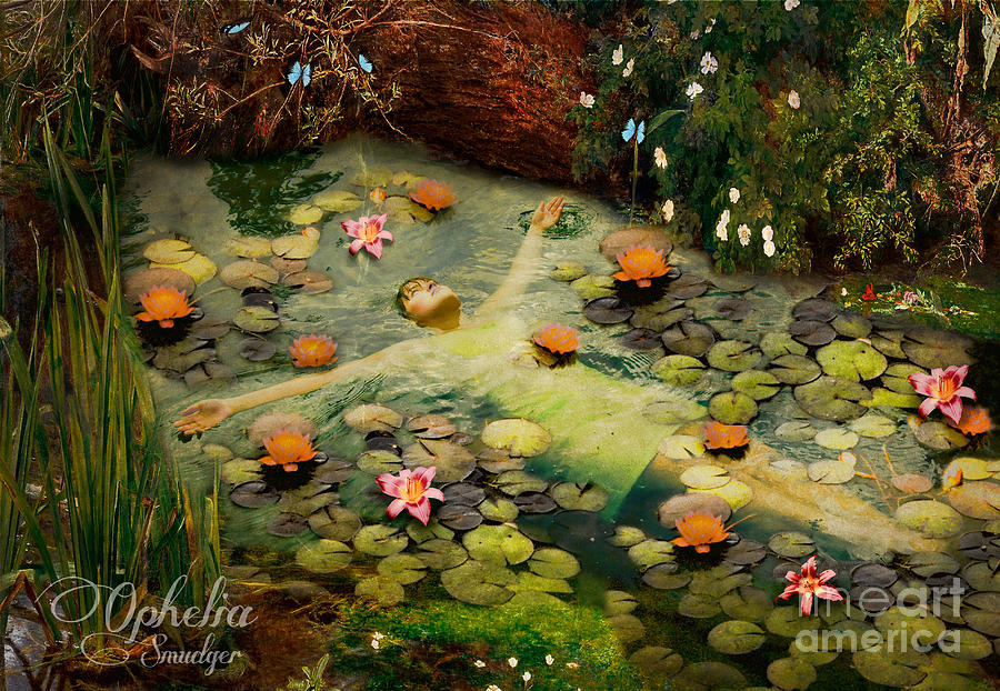 Ophelia Digital Art - Ophelia by Eugene James