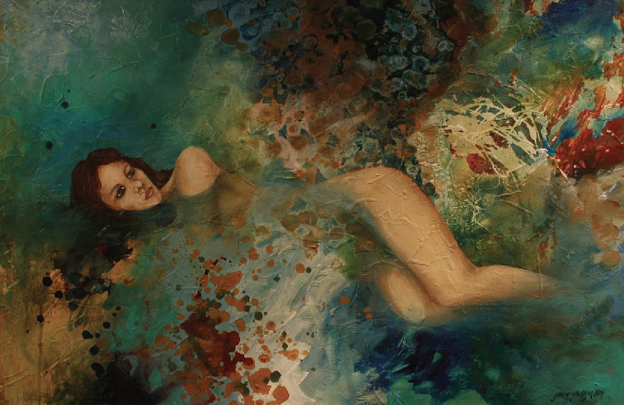 Ophelia Painting - Ophelia by Gonca Yengin