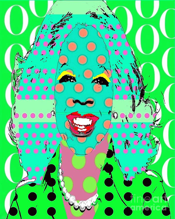 Oprah Digital Art - Oprah by Ricky Sencion