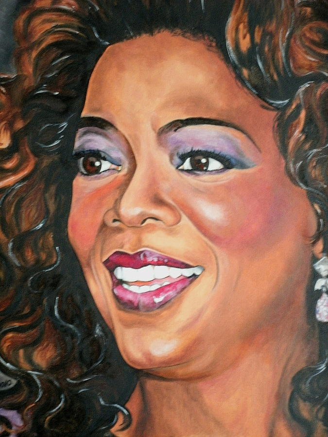 O Painting - Oprah Winfrey by Timothe Winstead