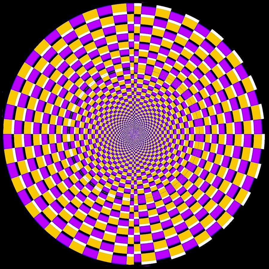 optical illusion moving cobweb digital art by sumit