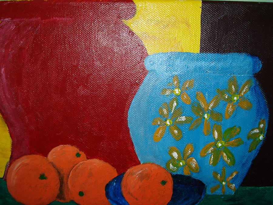 Still Life Painting - Oranges by Hannes Dupper