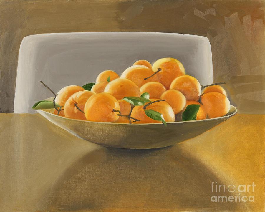 Still Life Painting - Oranges by Melissa Burke