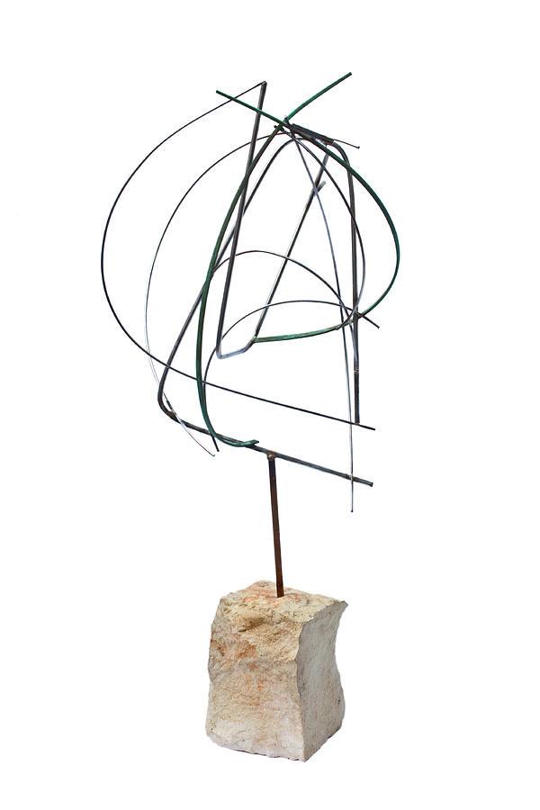 Sculpture - Orbite by Salvatore Daddario