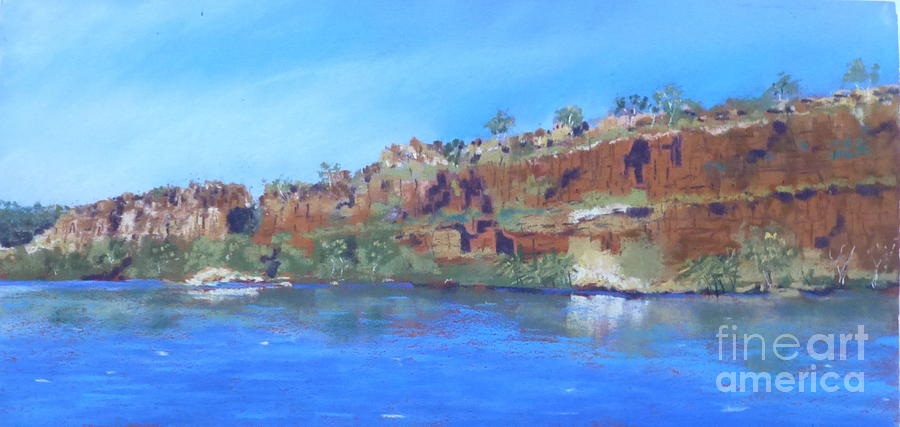 Ord River Photograph - Ord River Afteroon Cruise by Nadine Kelly
