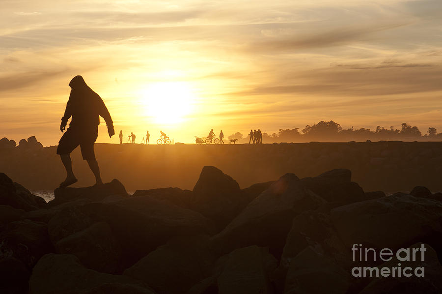 Silhouette Photograph - Ordinary Day Extraordinary Life by Artist and Photographer Laura Wrede