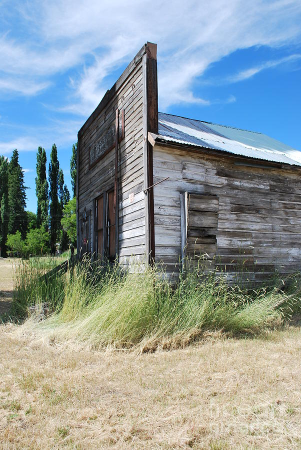 Oregon Photograph - Oregon Ghost Town by Jen Bodendorfer