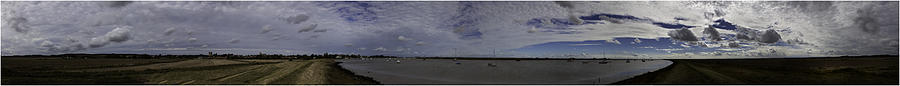 360 Degrees Photograph - Orford 360 by Nigel Jones