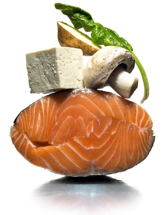 Salmon Photograph - Organic by Michael Kraus